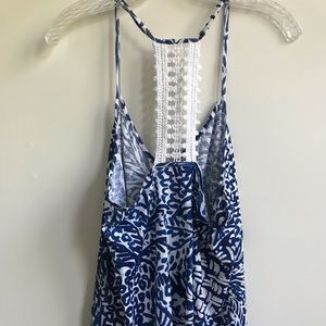 Lilly Pulitzer Tops - Lilly Pulitzer Nya Tank in Home Slice w/ tassels M